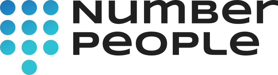 number people logo